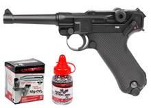 Legends Blowback P08 CO2 Pistol Kit, Full Metal