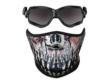 Crosman Elite ForceFlex Goggles & Half Predator Mask