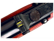 Weihrauch Rear TruGlo Fiber Optic Sight, Fits Select HW Rifles