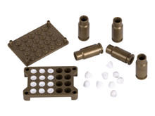 Paper Shooters Shells and Mold, 12 Shells