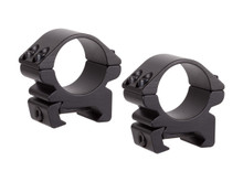 """Centerpoint 1"""" Rings, Low, Weaver Mount, See-Thru"""