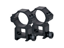 CenterPoint 30mm Rings, High, Weaver Mount, See-Thru