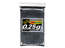 TSD Tactical Precision 6mm plastic Airsoft BBs, 0.25g, 3,000 rds, black