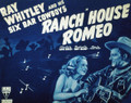 Ranch House Romeo (1939) DVD
