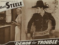 A Demon For Trouble (1934) DVD