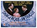 Dangerous Intrigue (1936) DVD