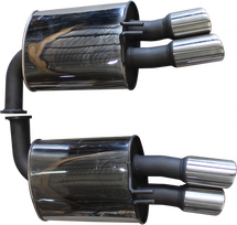 """Manta Performance Exhaust 2.5"""" Stainless Steel   Quiet Noise   Full System"""