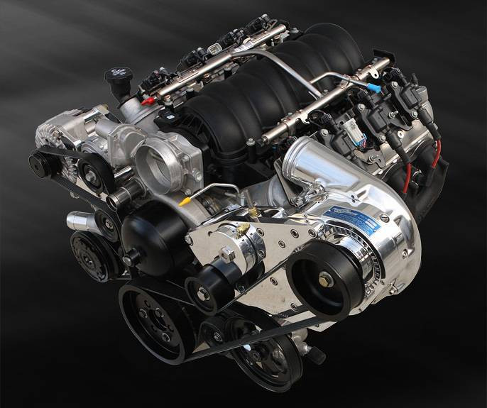 Procharged 650hp LS3 Crate Engine Package