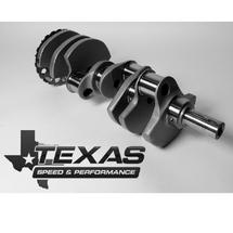 "Texas Speed & Performance 4.00"" Crankshaft | 58x Reluctor | LSA 8 Bolt Rear Flange"