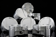 "PEP Forged H Beam 6.125"" Rods & Carillo CP Bullet LS 4.070"" Pistons Set 