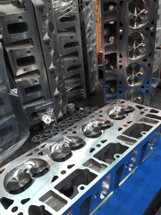 LSX LS2 Cylinder Heads Assembled | Cathedral Port | CNC Ported | 65cc / 215cc