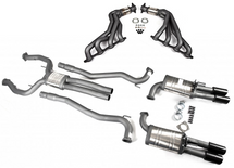 "Harrop VE/VF 2.5"" Full Exhaust System"