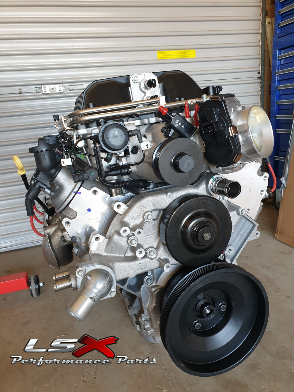 LSA 6 2L Supercharged Crate Engine | LSX Stage 1 535 kW / 720 HP