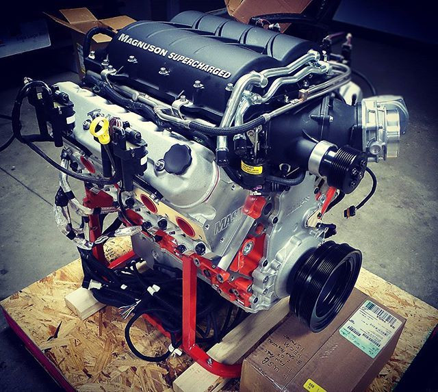 LSX 454ci Magnuson Heartbeat Supercharged High Performance Crate
