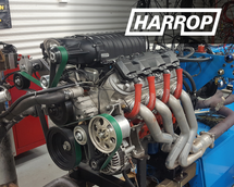 Harrop FDFI2300 | TVS2650 Supercharger Upgrade Kit