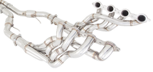 "XForce VE - VF 1"" 3/4 4 into 1 Stainless Steel Long Tube Headers with 100 Cell Cats (NON-Polished)"