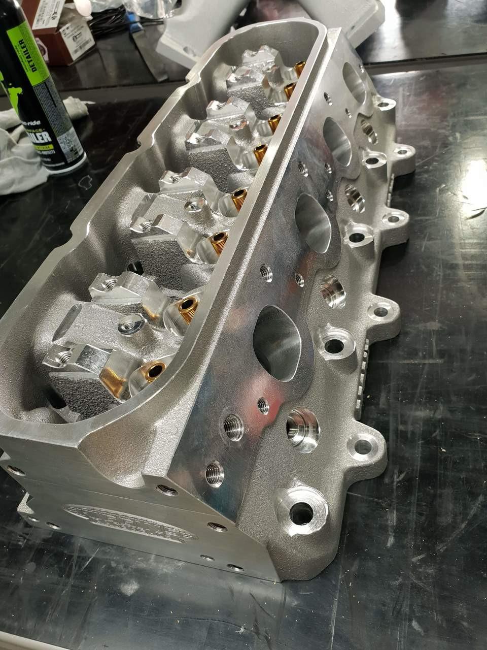 Brodix BR Series LS7 CNC Ported Cylinder Heads | Outright