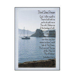 3RD STEP PRAYER GREETING CARD