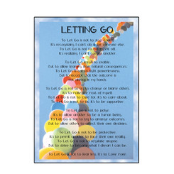 LETTING GO BIRTHDAY CARD