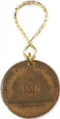 Bronze Key Tag