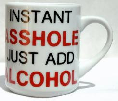 JUST ADD ALCOHOL MUG
