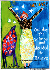 DECIDED TO BELIEVE CARD