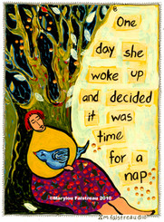 DECIDED IT WAS TIME FOR A NAP CARD