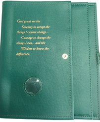 LARGE PRINT DELUXE DOUBLE BOOK COVER (more colors available)