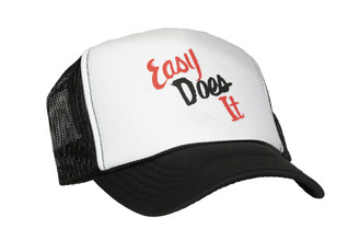 Easy Does It Trucker Hat