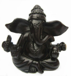 SMALL RESIN GANESH STATUE (with box)