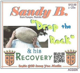 DROP THE ROCK WITH SANDY B. AUDIO CD'S