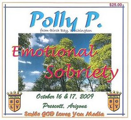 EMOTIONAL SOBRIETY WITH POLLY P. AUDIO CD'S