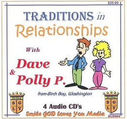 TRADITIONS IN RELATIONSHIPS WITH DAVE & POLLY P. AUDIO CD'S