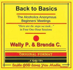 BACK TO BASICS WITH WALLY P. AND BRENDA C. AUDIO CD'S