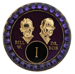 CRYSTALLIZED BILL & BOB PURPLE