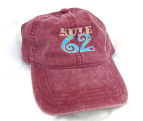 Rule 62 Embroidered Hat