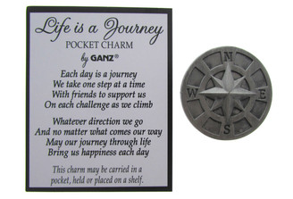 Life is a Journey - Pocket Charm
