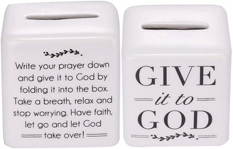 Give It To God prayer Box, perfect for all your worries, hopes and dreams!