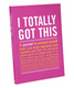 A Journal to remind yourself that you are truly awesome and capable!