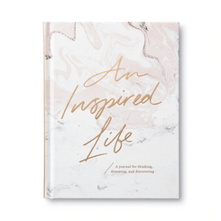 Your life is your creation! Become inspired and write it all out with this beautiful journal!
