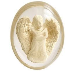 Have  worry? Put this stone in your pocket and leave the rest to the Angel!