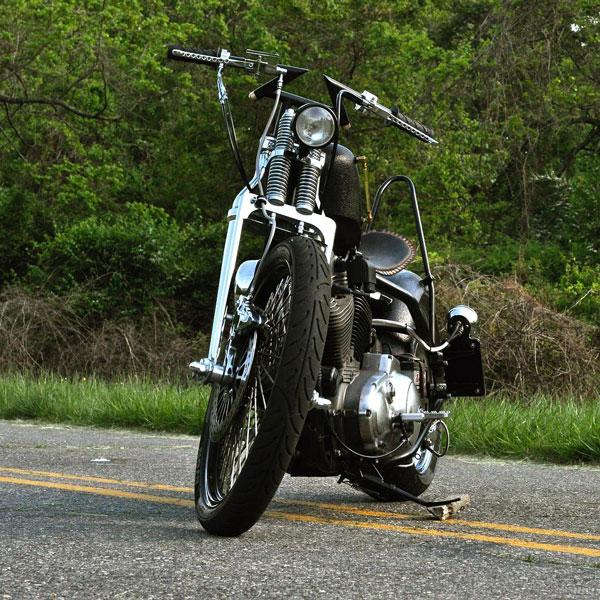 Motorcycle Handlebars Full Shot