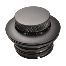 Black Pop Up Gas Cap for 1982 and later OE Harleys VENTED Right Hand Threads - Motorcycle Gas Tank Cap - Chopper Bobber