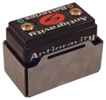 Antigravity Battery Box for AG801, AG802 Small Case 8 Cell - Belt Style - Blank - FLAT or WELDED - MADE IN THE USA - Harley Chopper Bobber Cafe Racer