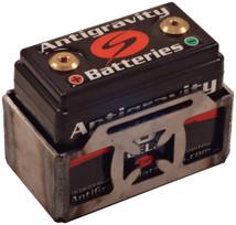 Antigravity Battery Box for AG801, AG802 - Small Case 8 Cell - Belt Style - Cross - FLAT or WELDED - MADE IN THE USA - Harley Chopper Bobber Cafe Racer