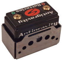 Antigravity Battery Box for AG801, AG802 - Small Case 8 Cell - Belt Style - Swiss - FLAT or WELDED - MADE IN THE USA - Harley Chopper Bobber Cafe Racer
