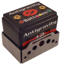 Antigravity Battery Box for AG1201, AG1601 - Small Case 12/16 Cell - Belt Style - Swiss - FLAT or WELDED - MADE IN THE USA - Harley Chopper Bobber Cafe Racer