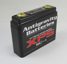 Antigravity Batteries - Lightweight Racing Motorcycle Lithium Ion Battery - Extreme Power Series SC-1 - MADE IN THE USA - 12 Ounces - 180 CCA - Chopper Bobber Cafe Racer Harley - RACE USE ONLY