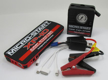 Antigravity Batteries XP-10 Emergency Road Side Auto KIT - Battery Jump Starter & Charger - Back Up Power Supply WITH Mini Mobile Tire Inflator - Jumper Box