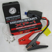Antigravity Batteries XP-1 Emergency Road Side Auto Kit - Battery Jump Starter & Charger - Back Up Power Supply WITH Mini Mobile Tire Inflator - Jumper Box
